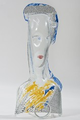 2012, Head I, 38 x 16 cm.